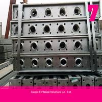 galvanized steel structures bridge with competitive price