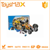 2015 High speed ABS Plastic Yelllow Intelligent DIY Assembly Car Toys, Battery Operated RC Model Car Kit with Certificates