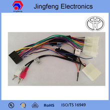 auto wiring harness or toyota highlander car dvd gps navigation system