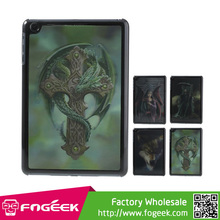 for iPad Mini Lifelike 3D Effect Laughing Cool Skull Pattern PC Hard Case