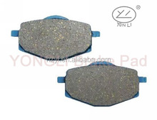 Front sintered brake pads for CF MOTO CF 125 T-21A E-Charm 10-11/CF 150 T-Si 10-11