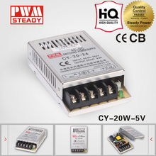 CY-20-5 CE 20w 5v 4a single ac dc regulated ultra-thin switching power supply