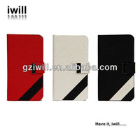 2014 fashion new products high quality pu leather mobile phone case cover for iphone5s