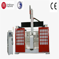 Good Quality 4axis 3d Foam / Wood Mold CNC Engraver Machine with Rotary