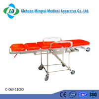 C-069-11000 Aluminium Alloy Resuscitation Trolley Available for Ambulance