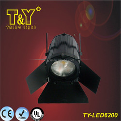 200 watts HIGH ILLUMINATION LOWER PRICE professional led fresnel light