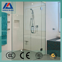Hot sale 10mm tempered glass panels to sale for shower