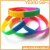 Adjustable Custom Rubber Silicone Wristband(bracelets) for promotional