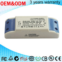 factory price 9w 320ma external power supply waterproof electronic led driver ip67 24v indian
