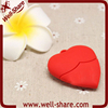 wholesale Promotional gifts oem logo heart shape usb flash memory