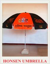 shangyu honsen 2.3m high quality 6 panels European Style Custom Logo Patio Umbrellas