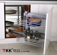 Kitchen Storage, Magic Corner, Pull Out Basket