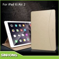 New Hot Sale 2015 Leather Tablet Smart Cover Case For iPad Air 2