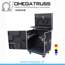 Guangzhou Hot sale custom made waterproof moving head lighting aluminum flight case