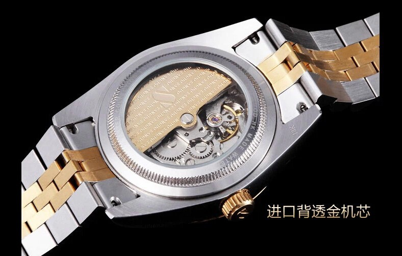 38mm SANGDO 0241B Automatic Self-Wind movement  High quality 2016 new fashion Men's watch