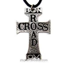 Bon Jovi pendant cross music band necklace God's road