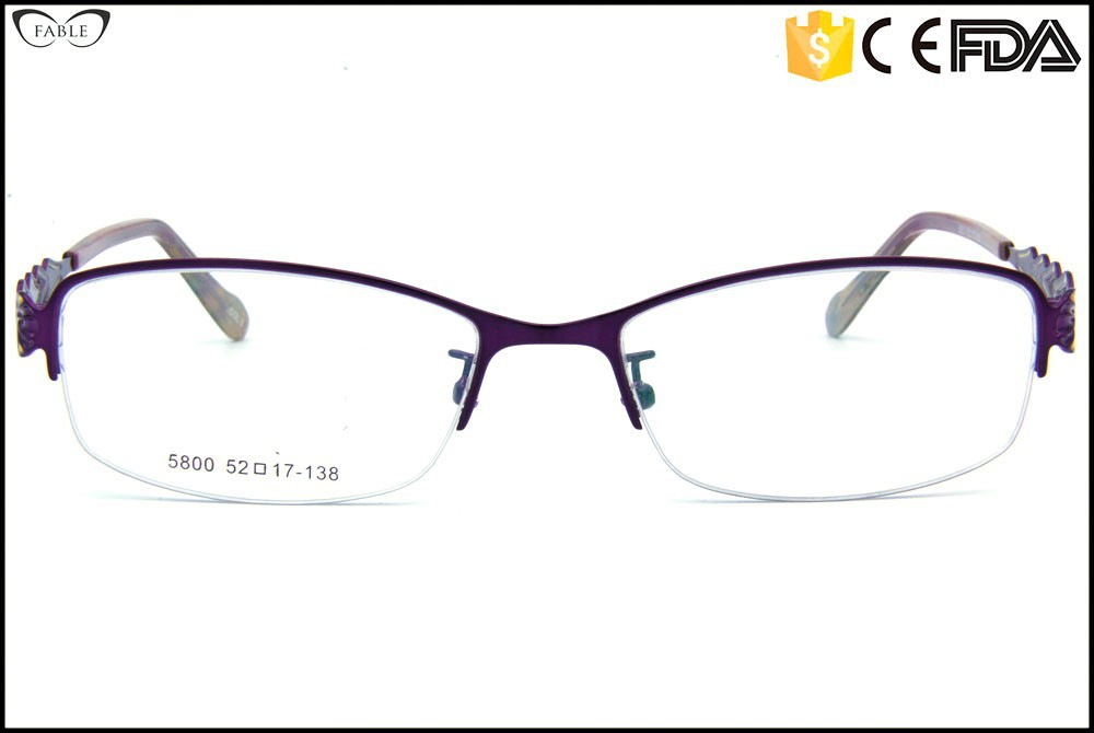 Us Eyeglass Frame Manufacturers : Manufacturer half rimless newest eyeglass frames wholesale ...