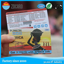 Environmental Fashionable wholesale scratch card