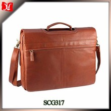 2015 New flap over closure business briefcases for sale