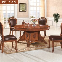 Wholesale price European style large Solid wood Dining Table For Restaurant And General Use