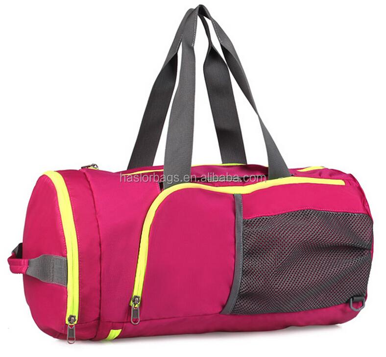 Pliable sacs de Sport pour Gym avec chaussures compartiment