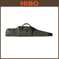 Trade Assurance soft melton and leather rifle bag