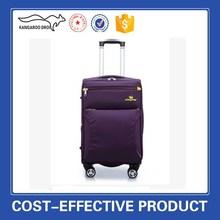 purple luggage sets trolley bag