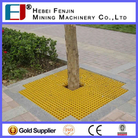 Composite FRP Fence/Lawn/Tree Proection Gratings