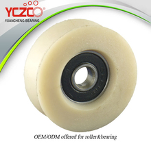 pom sliding roller plastic pulley good performance low friction