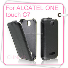 2014 New Arrival PU Leather Flip Case for Alcatel One Touch Pop C7 Leather for alcatel Mobile Phone Cover