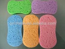 Cellulose sponge material kitchen usage sponge