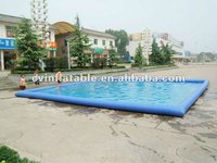 2012 summer new giant square inflatable swimming pool