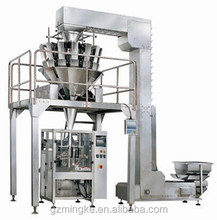 Guangzhou factory price MK-420A automatic packaging machine for 1kg puffed foods , frozen foods, biscuits , dried fruits