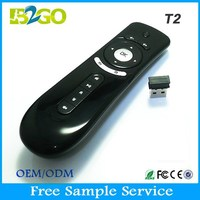 Convenient wireless car mouse2.4G Mini Wireless T2 Air Mouse