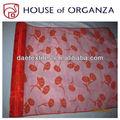 tela de organza congregación para decoraciones para el hogar y las cortinas