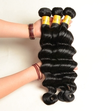 Wholesale Loose Deep Natural Black Virgin Brazilian Hair Weave Unprocessed Brazilian Virgin Hair
