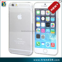 Transparent Crystal Clear Hard TPU Phone Case For iPhone 6