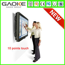 2015 China gaoke Interactive LED Infrared Touch Screen Smart TV Infrared IR multitouch Resistive 55'' 65'' 70'' 84''