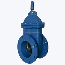ANSI Ductile Iron non-rising stem gate valve with resilient type