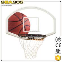 plastic wall mounted basketball backboard for competation