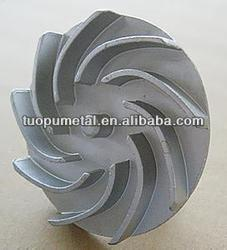 Water Pump Impeller for pump parts casted steel impeller cast part