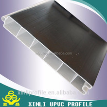 60mm series upvc and pvc sliding windows make in China