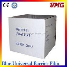 Dental disposable products adhesive barrier films