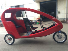 Adult Electric Taxi Tricycle With Passenger Seat