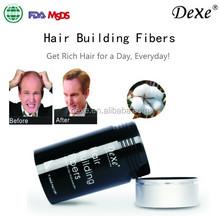 miracle hair building fiber Hot top sale Dexe 2015 OEM ODM