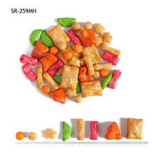 Sweet flavour 300g Japanese snacks wirh BRC certificate