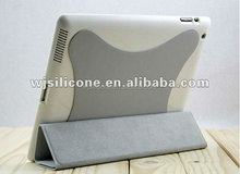9.7 inch tablet pc leather keyboard case, for iPad leather case with bluetooth keyboard