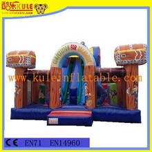 Commercial use inflatable fun city for sale/inflatable amusement park