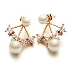 high quality italina rigant jewelry wholesale latest design of pearl earrings