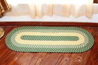nice plastic braided rug floor runners